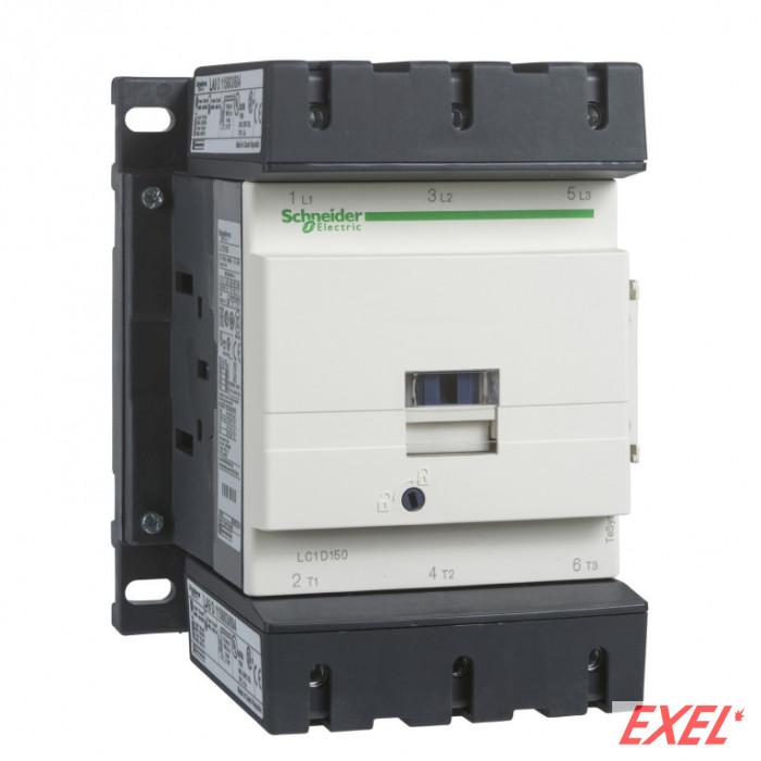 Kontaktor LC1D150Q7 150A/3p 380VAC 1NO+1NC Schneider