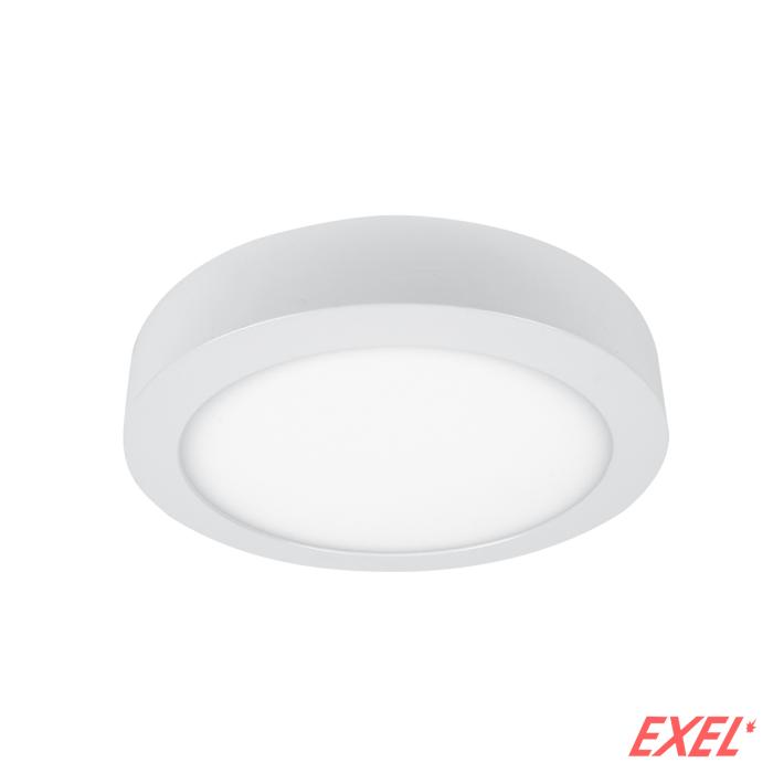 LED panel 18W 6400K nadgradni okrugli fi175mm ELMARK