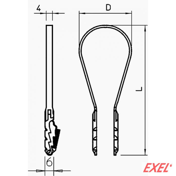 BKS-stezna obujmica 20-40 mm OBO