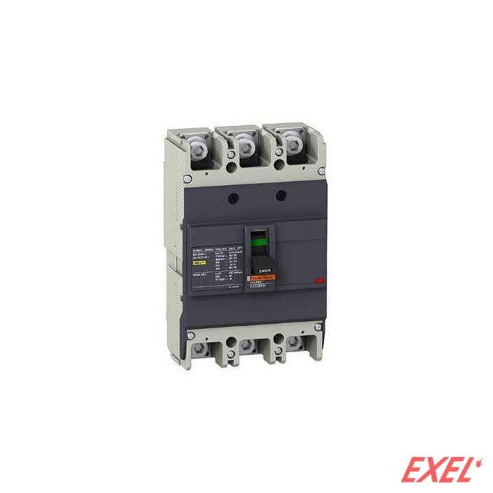 EZC250N 250A 3P 25kA Schneider