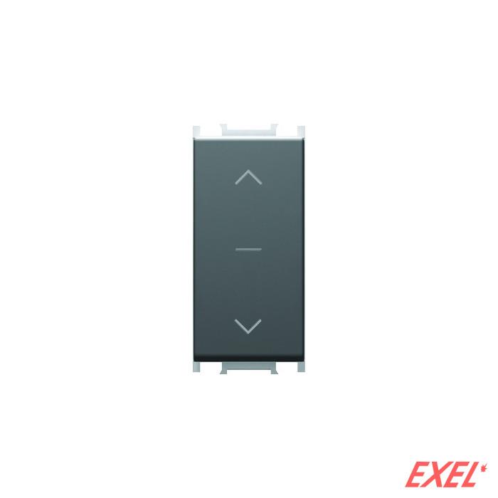 Prekidač za roletne 16AX 250V 1M crna
