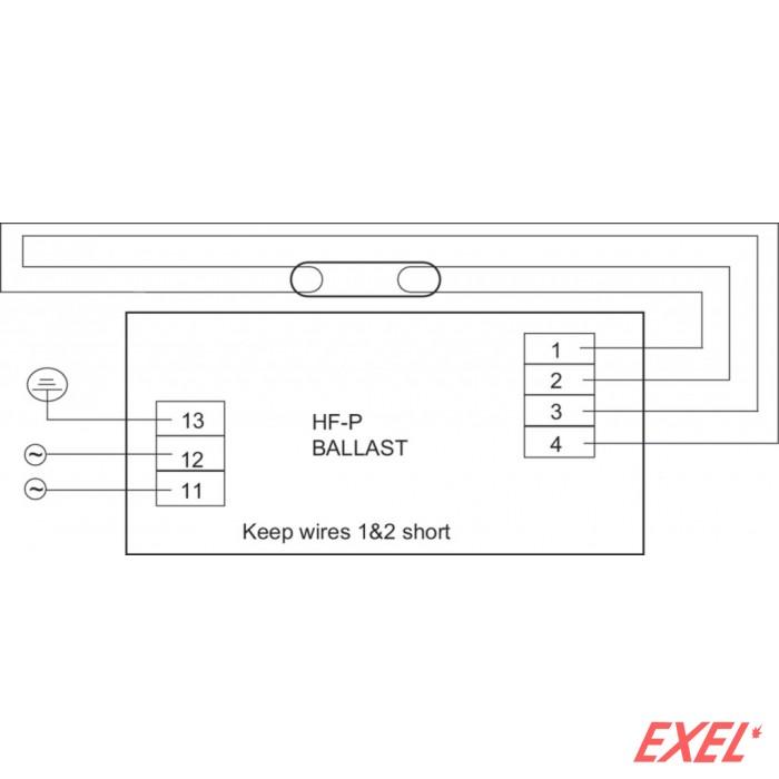 Prigušnica E T5 1x14/21/28/35W HF-P Philips