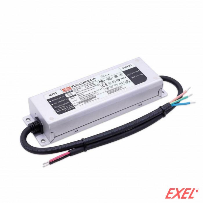 Napajanje 200W 24V/DC XLG IP67 Mean Well