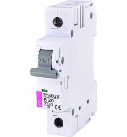 Automatski osigurač 20A 1-polni 6 kA B Eti