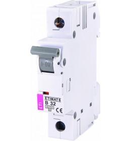 Automatski osigurač 32A 1-polni 6 kA B Eti