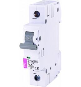 Automatski osigurač 25A 1-polni 6 kA C Eti