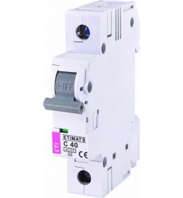 Automatski osigurač 40A 1-polni 6 kA C Eti