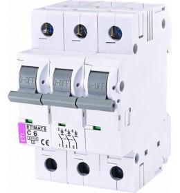 Automatski osigurač 10A 3-polni 6 kA C Eti