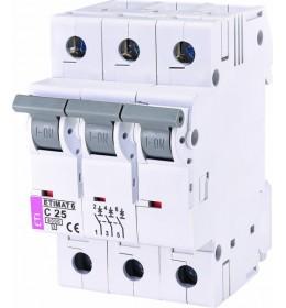 Automatski osigurač 25A 3-polni 6 kA C Eti