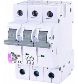 Automatski osigurač 50A 3-polni 6 kA C Eti