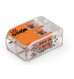 WAGO spojnica utična 2 x 0,2 - 4mm² sa polugom