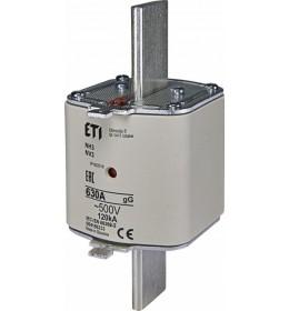 Nožasti osigurač NH3 630A 500V