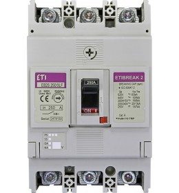 EB2S 250/3LF 250A 3p 16kA Eti