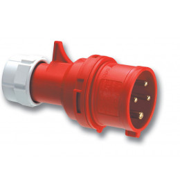 Industrijski utikač 16A/4p   PCE