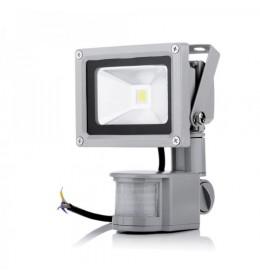 LED reflektor 10W senzor  6000K IP65 siva Hyundai