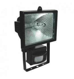 Reflektor halogeni 120W senzor crni sa sijalicom