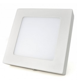 LED panel 12W 6000K nadgradni 172x172mm
