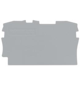 Krajnja ploča za VS 2,5 siva 2002 WAGO