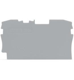 Krajnja ploča za VS 4 siva 2004 WAGO