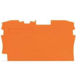 Krajnja ploča za VS 4 narandžasta 2004 WAGO