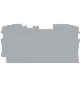 Krajnja ploča za VS 6 siva 2006 WAGO