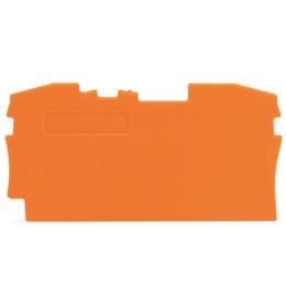 Krajnja ploča za VS 6 narandžasta 2006 WAGO