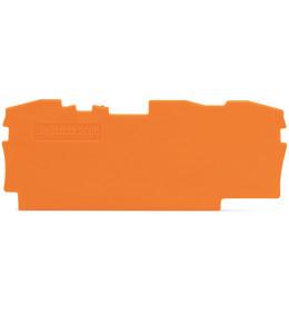Krajnja ploča za VS 6 3p narandž. 2006 WAGO