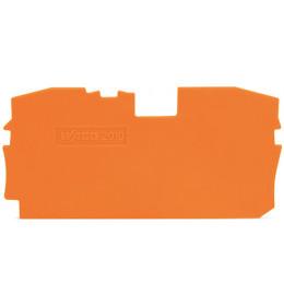 Krajnja ploča za VS 10 narandžasta 2010 WAGO