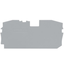 Krajnja ploča za VS 16 siva 2016 WAGO