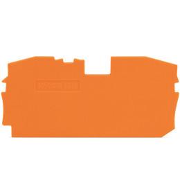 Krajnja ploča za VS 16 narandžasta 2016 WAGO