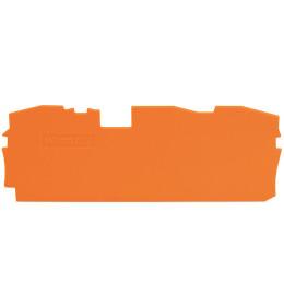 Krajnja ploča za VS 16-3p narandžasta 2016 WAGO
