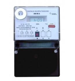 Uklopni sat MS1AB 230V 2para kontakta ENEL