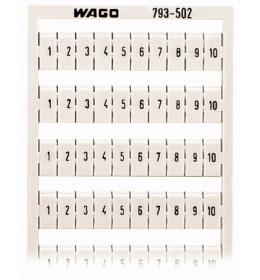 Brojevi  za VS 1-10 WAGO