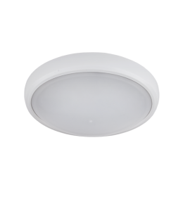 LED LAMPA OVALNA BRLED 6W IP54 BELA ELMARK