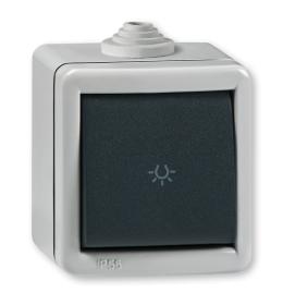Taster sklopka za svetlo za na zid IP55 285.1A Aling