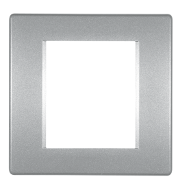 Okvir 2M srebrna Aling Mode 6502.S