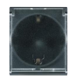 Priključnica dvopolna 16A/250V sa polikarbonatskim jezgrom