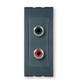 Priključnica audio RCA dvostruka