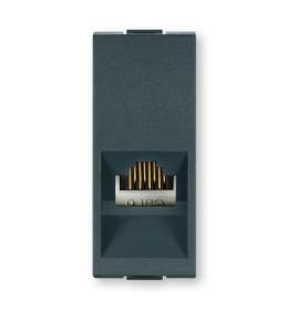 Priključnica komunikacijska dvostruka sa Keystone modulima RJ45 Cat5e FTP