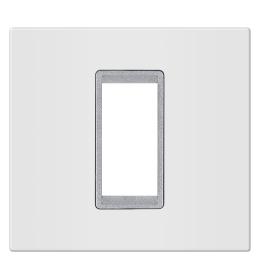 Okvir 1M bela sa silver nosačem Aling EXP