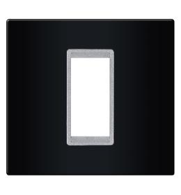 Okvir 1M crna sa silver nosačem Aling EXP