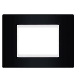 Maska 2M/3M EXP BASIC, crna sa belim nosačem