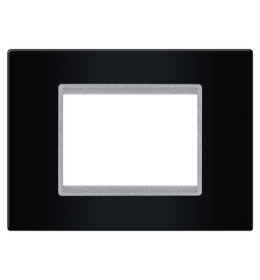 Maska 2M/3M EXP BASIC, crna sa silver nosačem