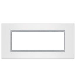 Okvir 6M bela sa silver nosačem Aling EXP