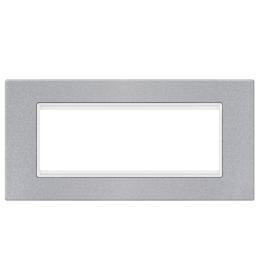 Okvir 6M silver sa belim nosačem Aling EXP