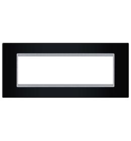 Okvir 7M crna sa silver nosačem Aling EXP