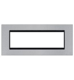 Okvir 7M silver sa crnim nosačem Aling EXP