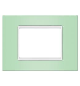Maska 7M EXP VIVID, pastel zelena