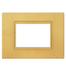 Maska 7M EXP METALIK, metalik zlatna