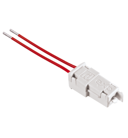 Tinjalica LED bela sa provodnicima 230V Aling EXP